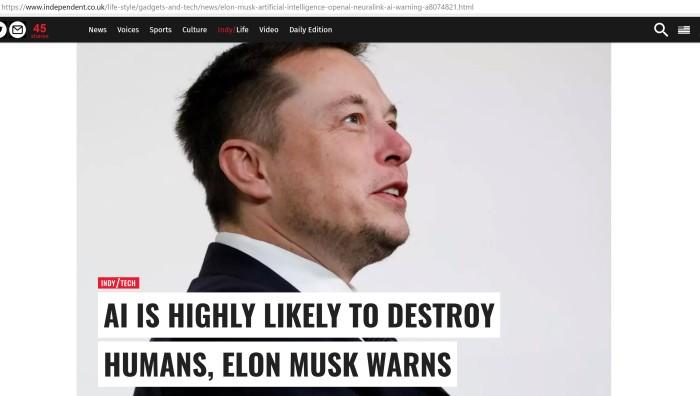 Elon Musk Cover