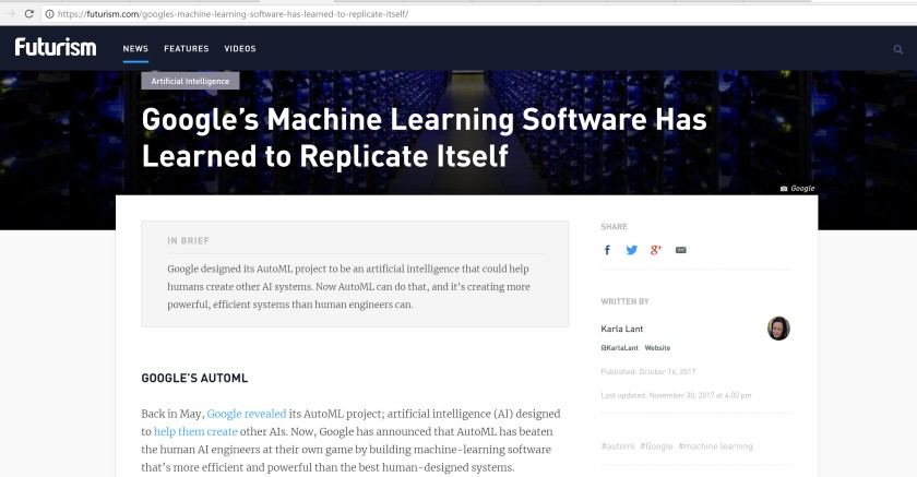 Google Machine Learning Win