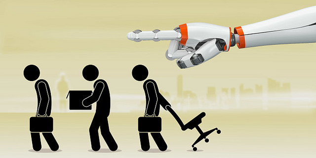 Robots Replacing Humans
