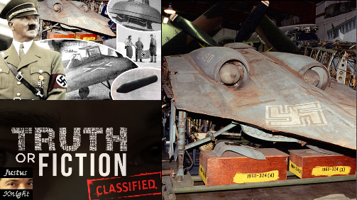 CIA File Reveals Information on Hitler's UFOs - Guess Where They Ended Up!
