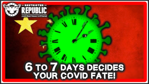 6 to 7 Days Decides Your Covid-19 Fate! Horrifically, China Has Engineered Long Term Damage To Be Irreversible!