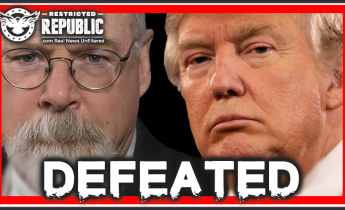 Donald and Durham Defeated! Deep State Checkmate... A Disastrous Turn of Events!