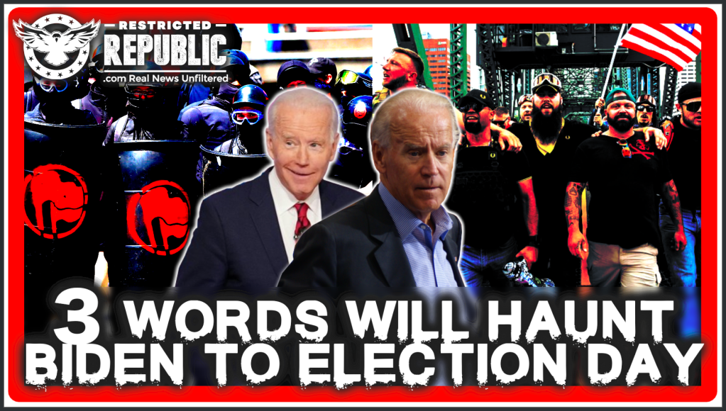 Biden Speaks 3 Words That Will Now Haunt Him Until Election Day…This Cannot Be Reversed!