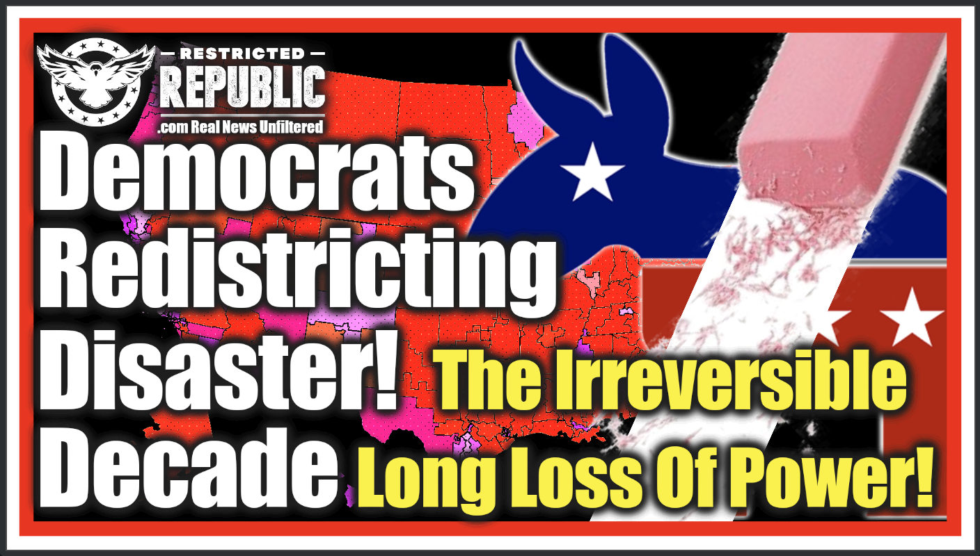The Biggest Political Disaster That No One Is Talking About! Democrats Suffer Decade Long Defeat In This Irreversible Unreported Loss Of Power!