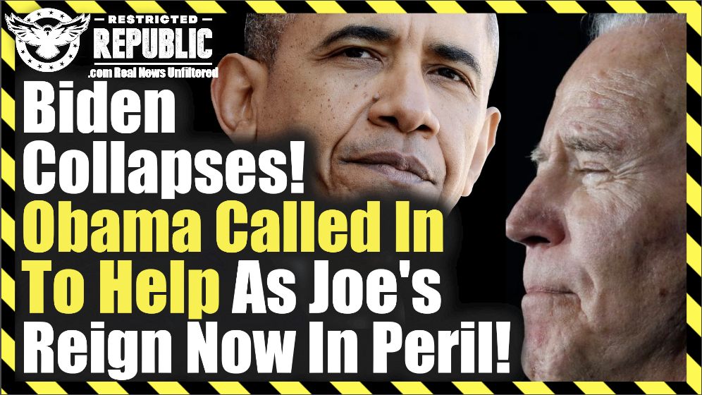 Biden Collapses! Obama Called In To Help As Joe's Reign Now In Peril!!